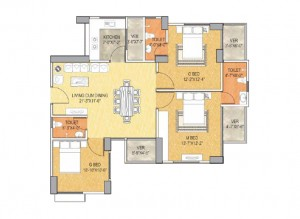 Type A 1400 sq ft