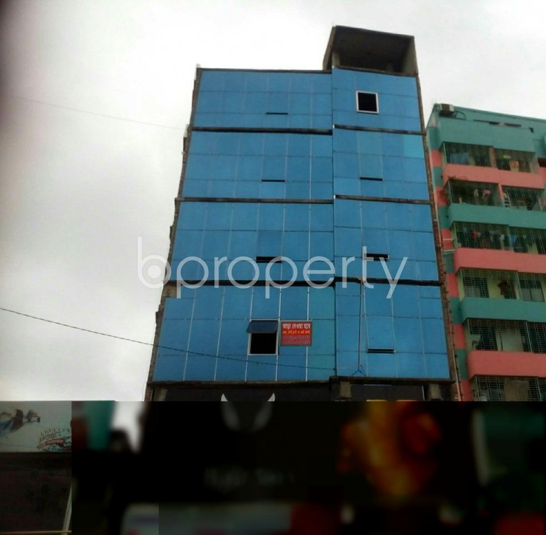 A Commercial Space Of 820 Sq Ft Is Up For Rent At Badda
