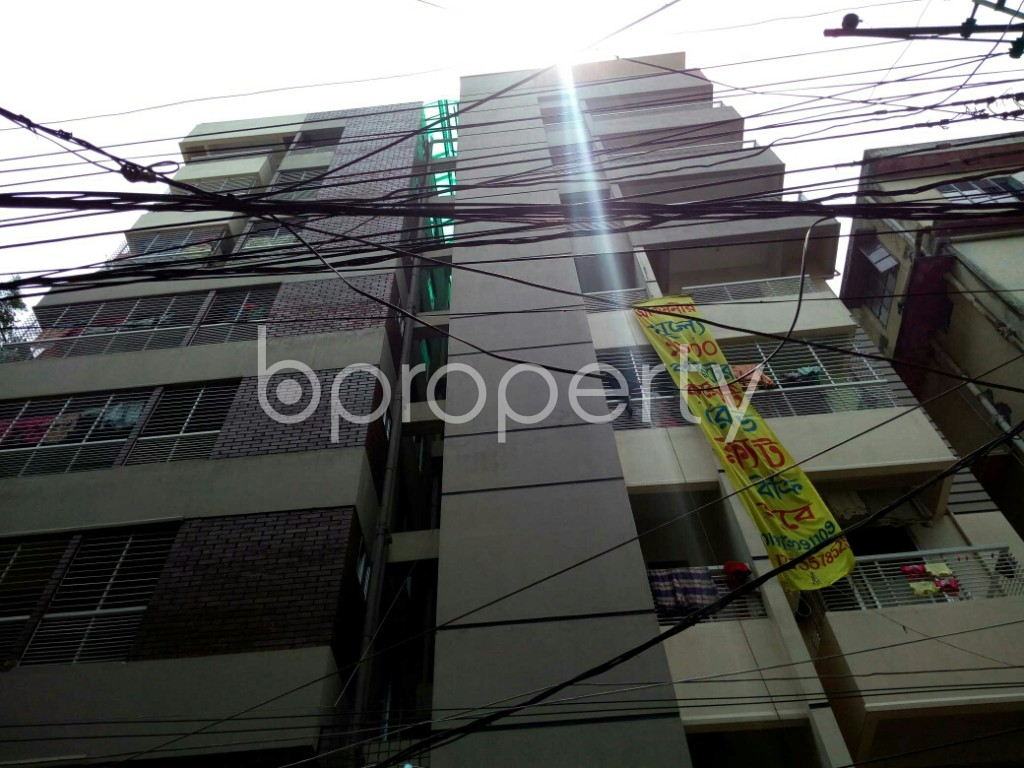 Outside view - 3 Bed Apartment for Sale in North Shahjahanpur, Dhaka - 1781632