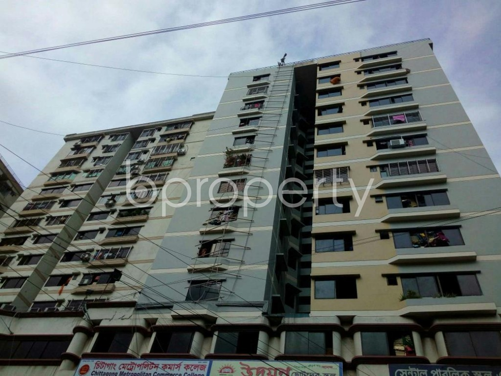 Outside view - 3 Bed Apartment for Sale in Kazir Dewri, Chattogram - 1784027