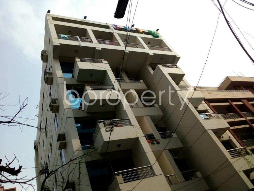 Front view - 4 Bed Apartment for Sale in Lalmatia, Dhaka - 1793452