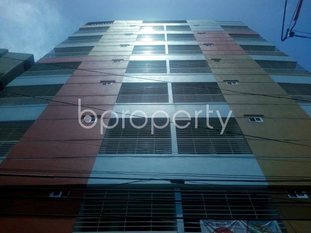 Front view - 3 Bed Apartment for Sale in Jatra Bari, Dhaka - 1794829