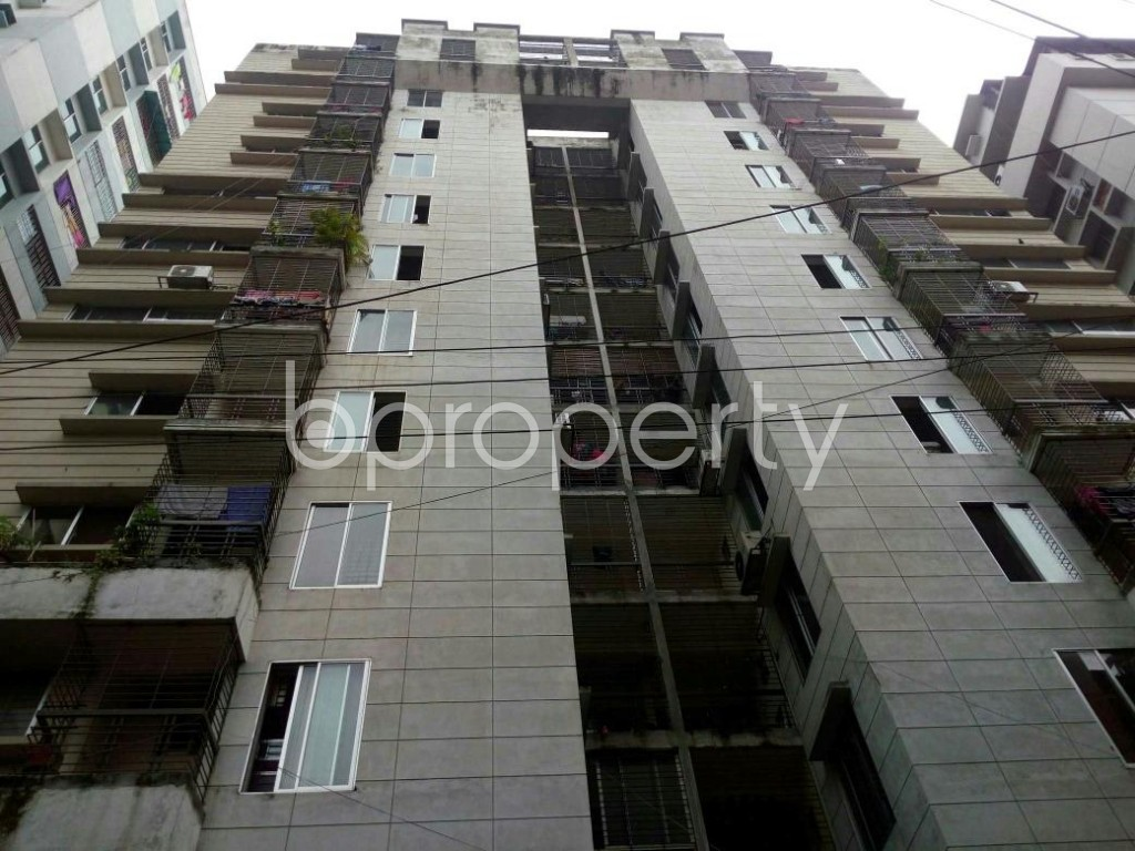 Front view - 3 Bed Apartment for Sale in Shegunbagicha, Dhaka - 1796832