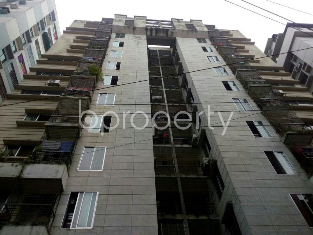 Front view - 3 Bed Apartment for Sale in Shegunbagicha, Dhaka - 1796833