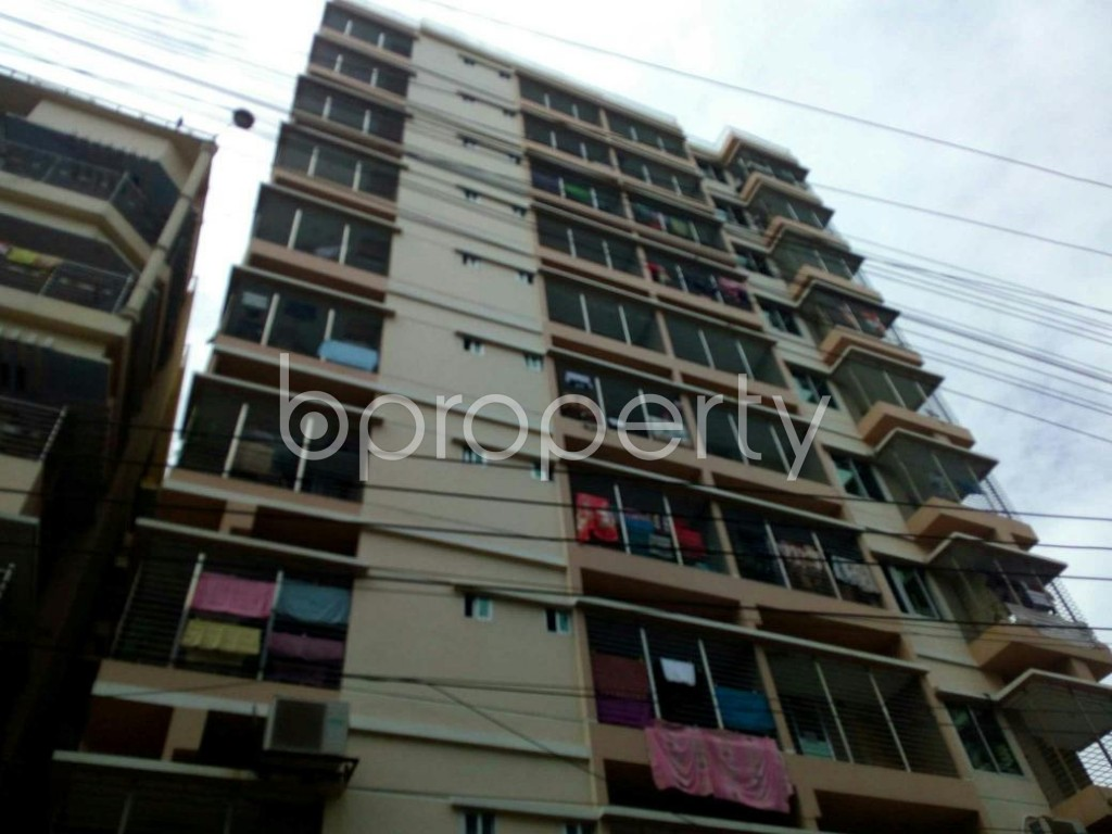 Front view - Apartment for Sale in 4 No Chandgaon Ward, Chattogram - 1797598