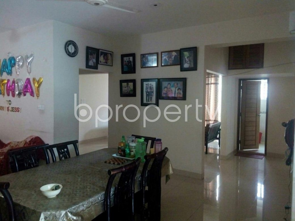 Dining area - 3 Bed Apartment for Sale in Bashundhara R-A, Dhaka - 1799196