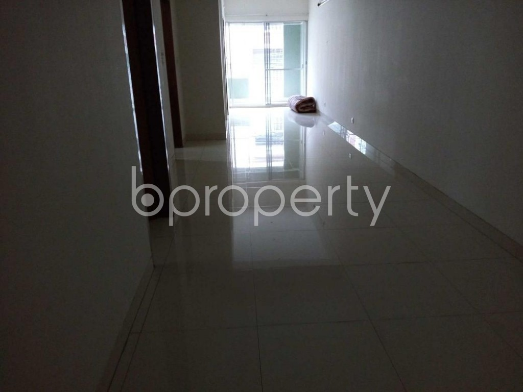A noteworthy Flat up for rent in Uttara, near HSBC Bank Limited