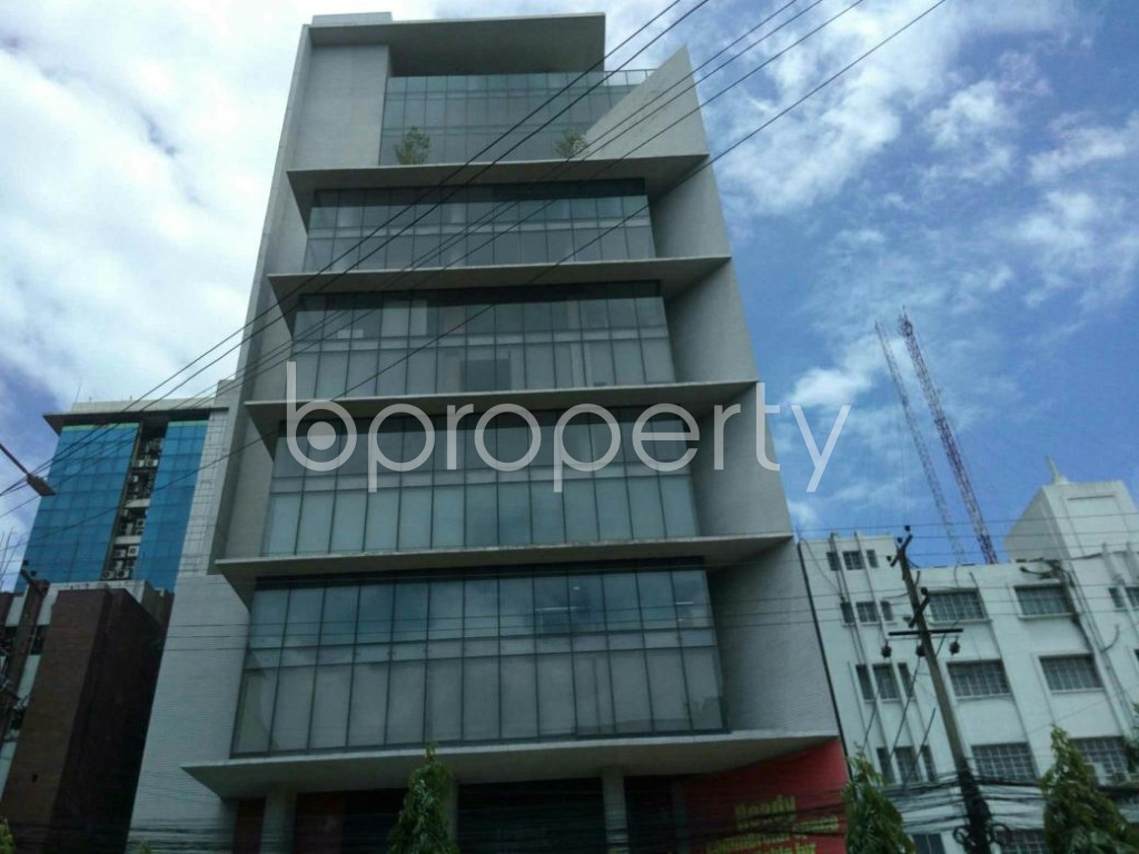 Front view - Office for Sale in Double Mooring, Chattogram - 1800368