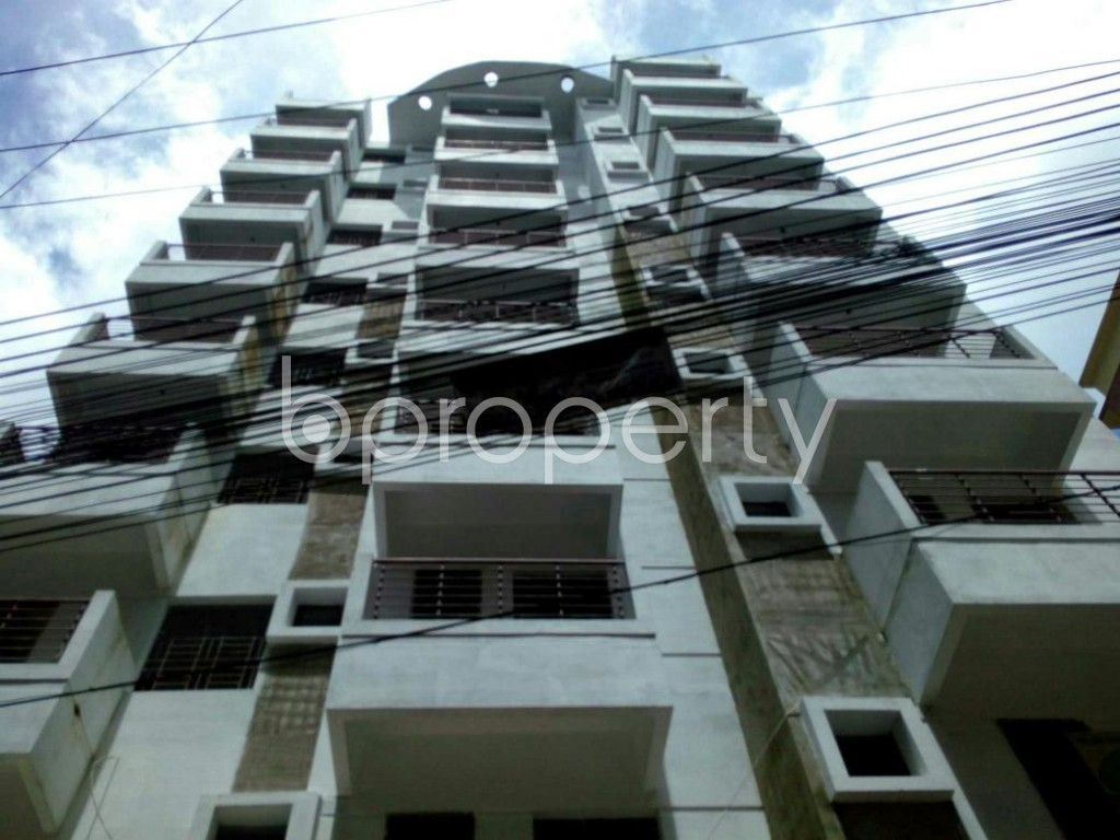 Outside view - 3 Bed Apartment for Sale in East Nasirabad, Chattogram - 1800372