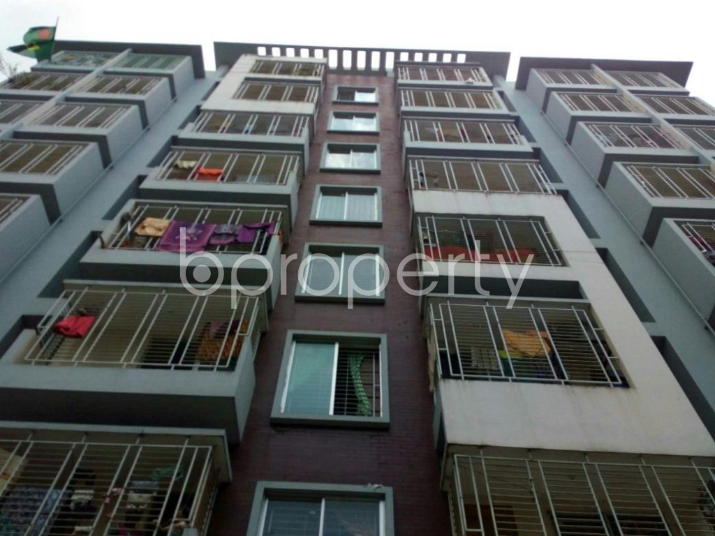 Front view - 3 Bed Apartment for Sale in 7 No. West Sholoshohor Ward, Chattogram - 1801837