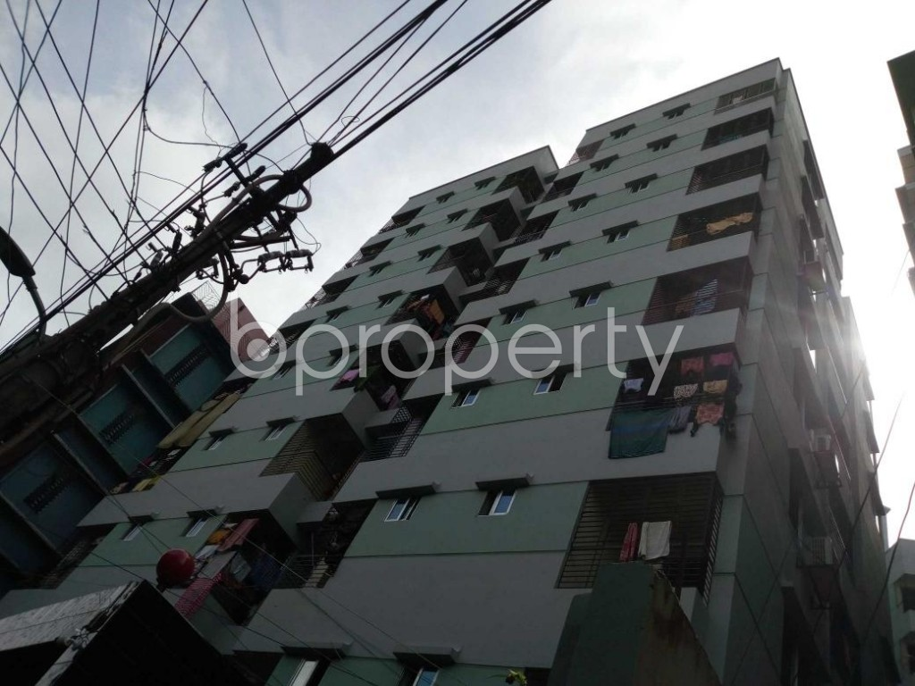 Outside view - 3 Bed Apartment for Sale in Bangshal, Dhaka - 1802239