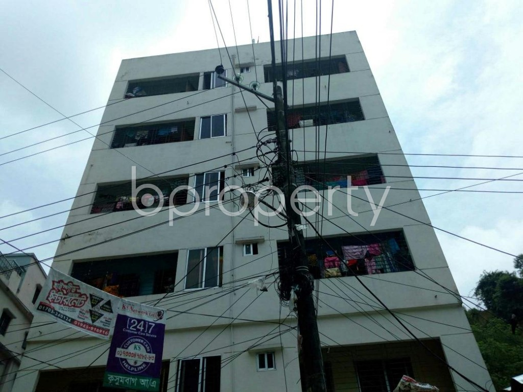Front view - 3 Bed Apartment for Sale in Lal Khan Bazaar, Chattogram - 1804359