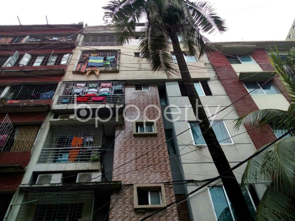 Front view - 2 Bed Apartment for Sale in Lalmatia, Dhaka - 1805891