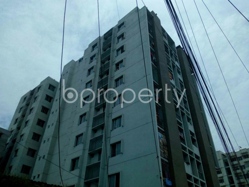 Outside view - 3 Bed Apartment for Sale in 7 No. West Sholoshohor Ward, Chattogram - 1806051