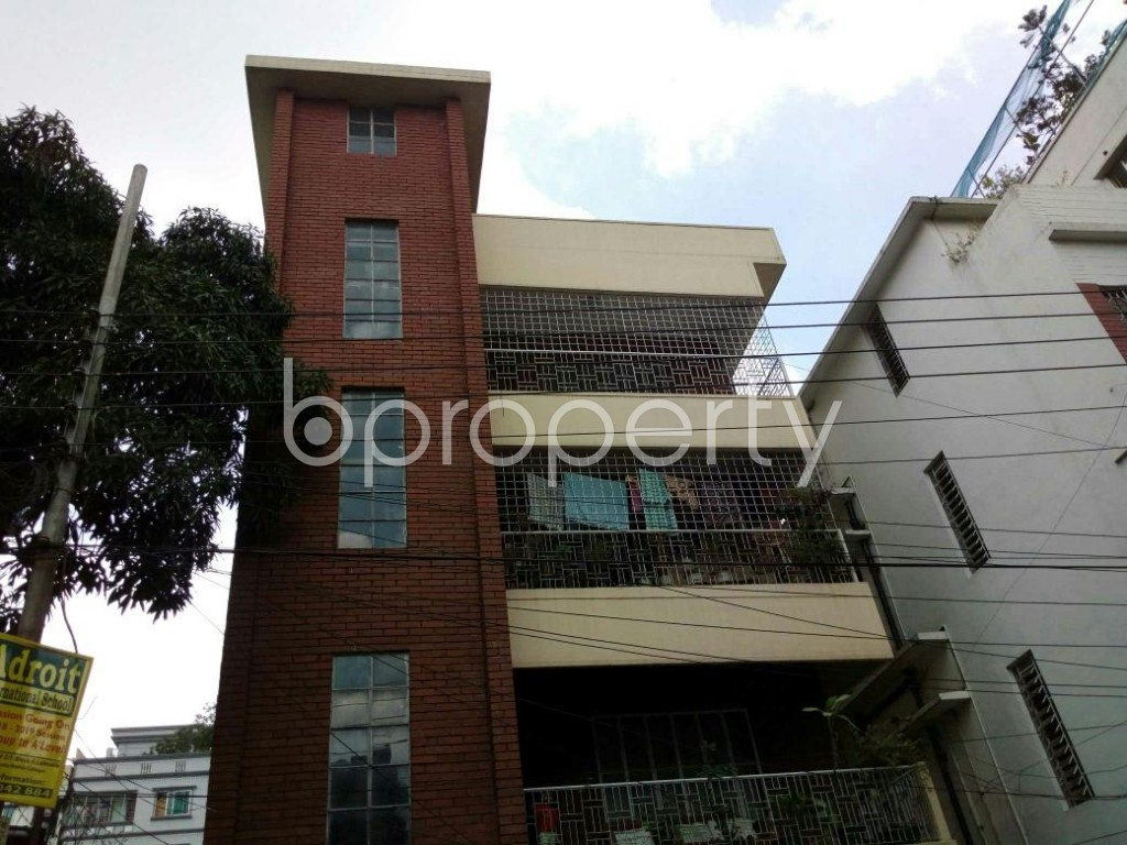 Front view - 3 Bed Building for Sale in Lalmatia, Dhaka - 1806193