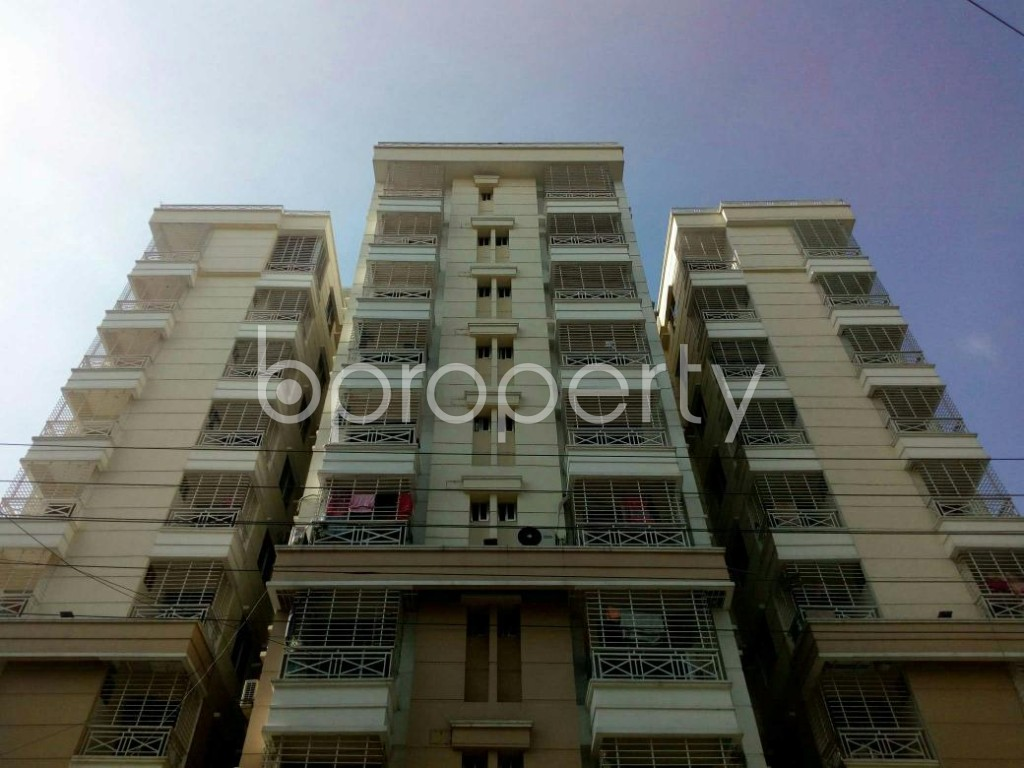 Front view - 4 Bed Duplex for Sale in Bashundhara R-A, Dhaka - 1806791