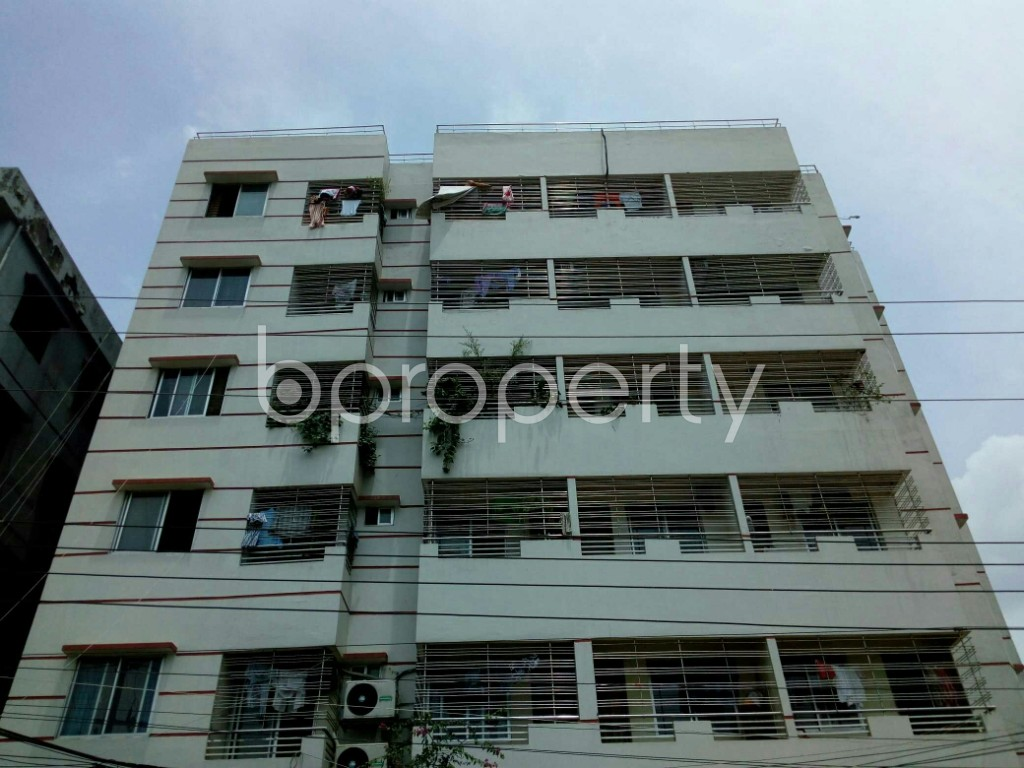 Front view - 3 Bed Apartment for Sale in Cantonment, Dhaka - 1807439