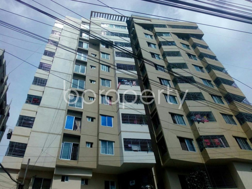 Outside view - 3 Bed Apartment for Sale in 15 No. Bagmoniram Ward, Chattogram - 1810587