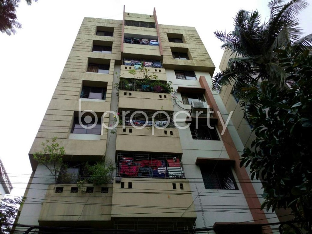Front view - 3 Bed Apartment for Sale in Lalmatia, Dhaka - 1810758