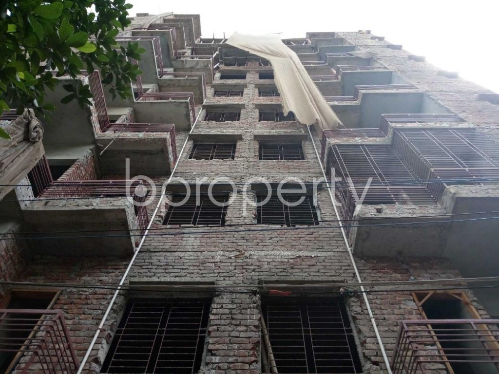Front view - 3 Bed Apartment for Sale in Mirpur, Dhaka - 1811006