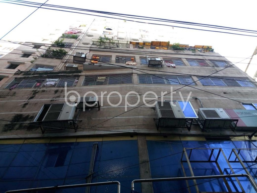 Front view - 3 Bed Apartment for Sale in Kotwali, Dhaka - 1811072