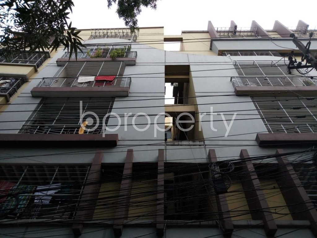 Front view - 3 Bed Apartment for Sale in Banani, Dhaka - 1814159