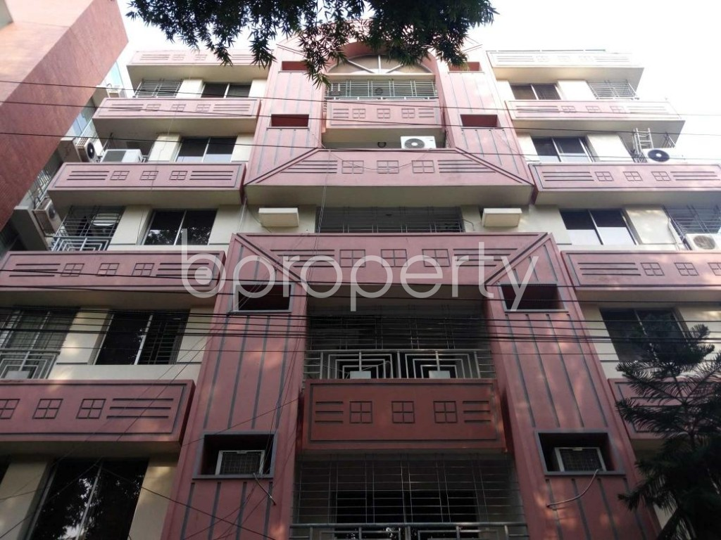 Front view - 3 Bed Apartment for Sale in Gulshan, Dhaka - 1815441