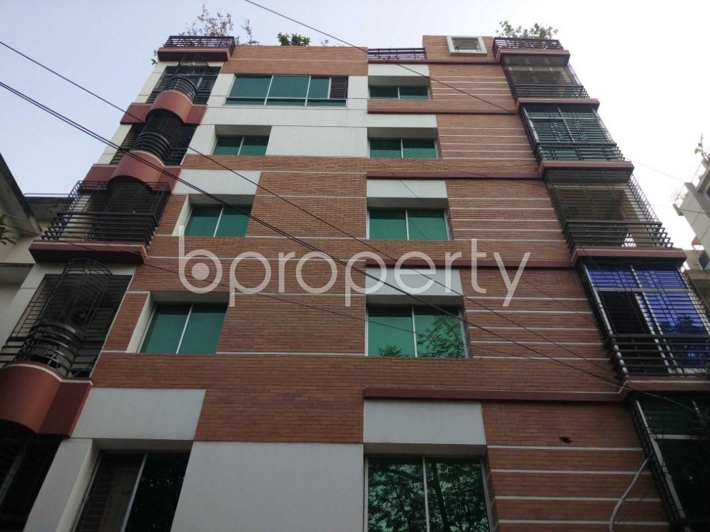 Front view - 3 Bed Apartment for Sale in Banani, Dhaka - 1815880