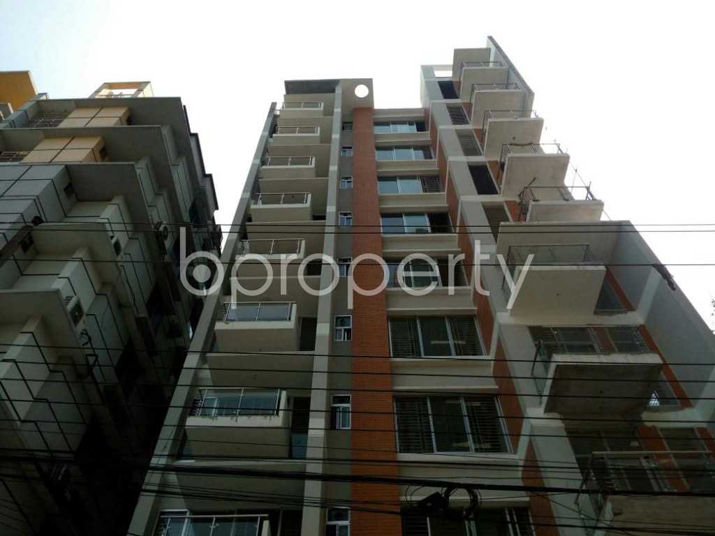 Front view - 3 Bed Apartment for Sale in Uttara, Dhaka - 1816499