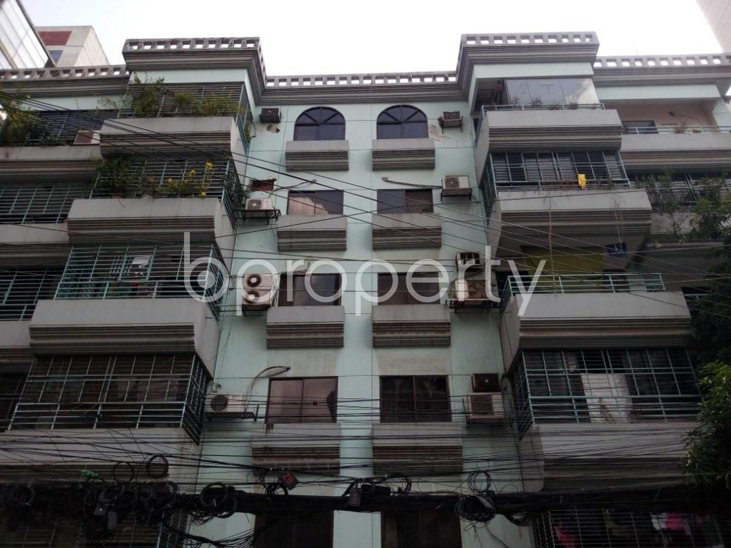 Front view - 3 Bed Apartment for Sale in Gulshan, Dhaka - 1818310
