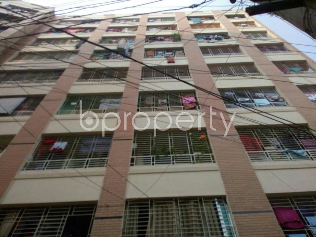 Front view - 2 Bed Apartment for Sale in Narayanganj, Narayanganj City - 1824087