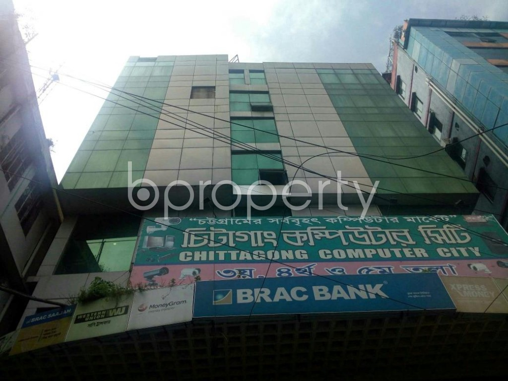 Front view - Office for Sale in Double Mooring, Chattogram - 1824112