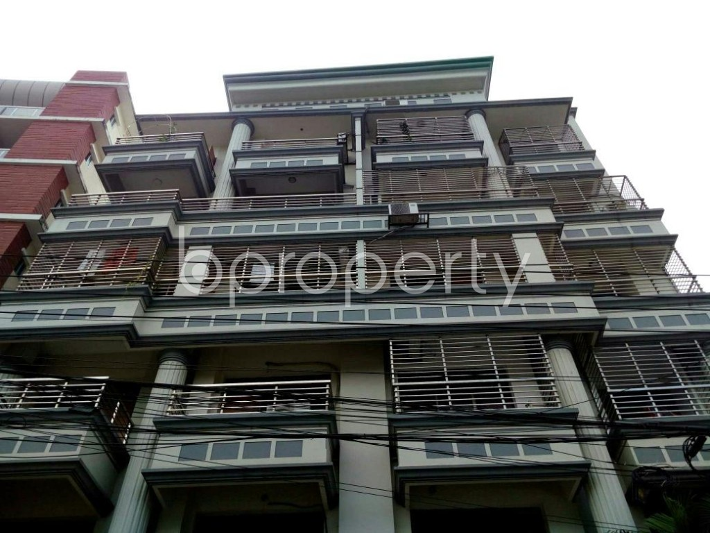Front view - 3 Bed Apartment for Sale in Uttara, Dhaka - 1824267