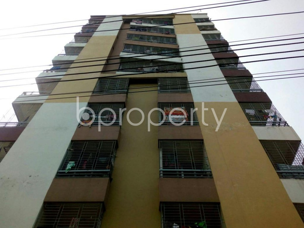 Front view - 4 Bed Apartment for Sale in Uttar Khan, Dhaka - 1824393