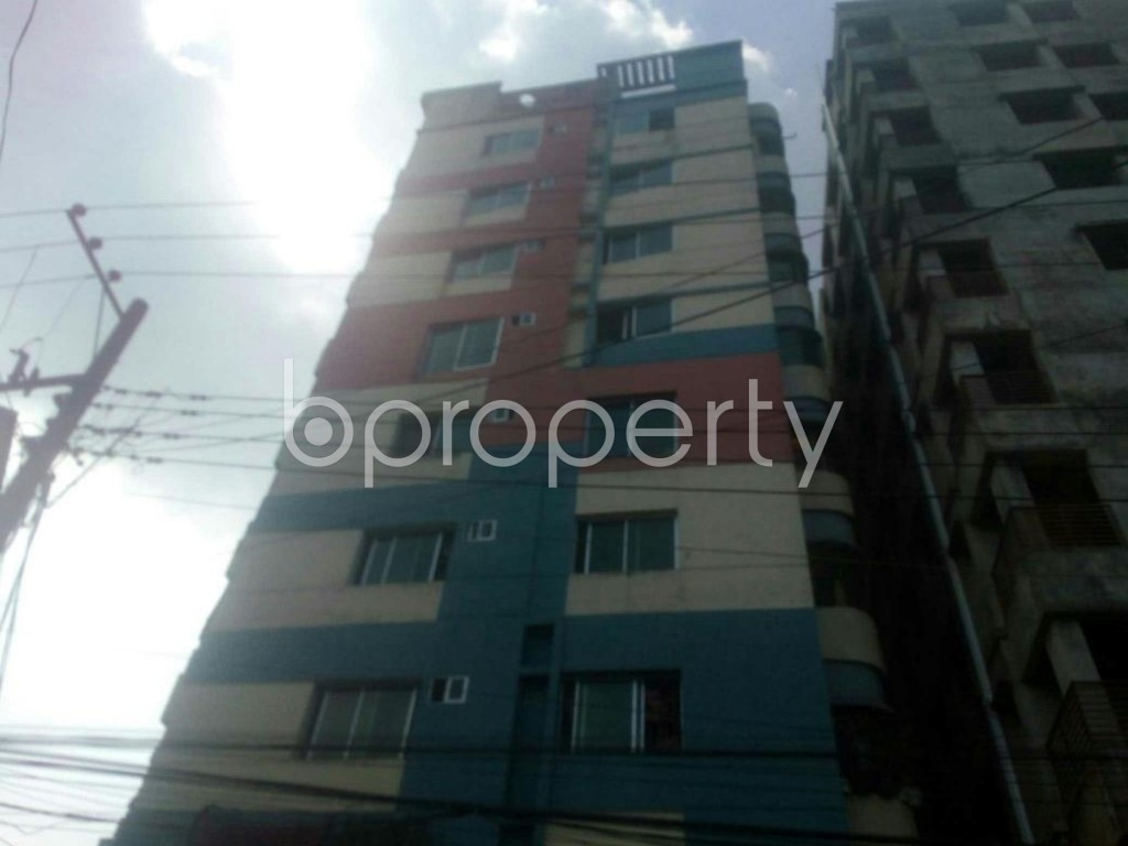 Front view - 3 Bed Apartment for Sale in 4 No Chandgaon Ward, Chattogram - 1826968