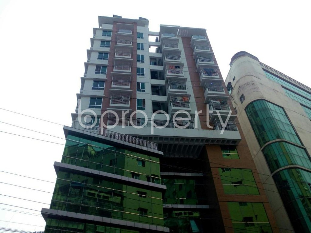 Front view - 3 Bed Apartment for Sale in New Market, Dhaka - 1827136