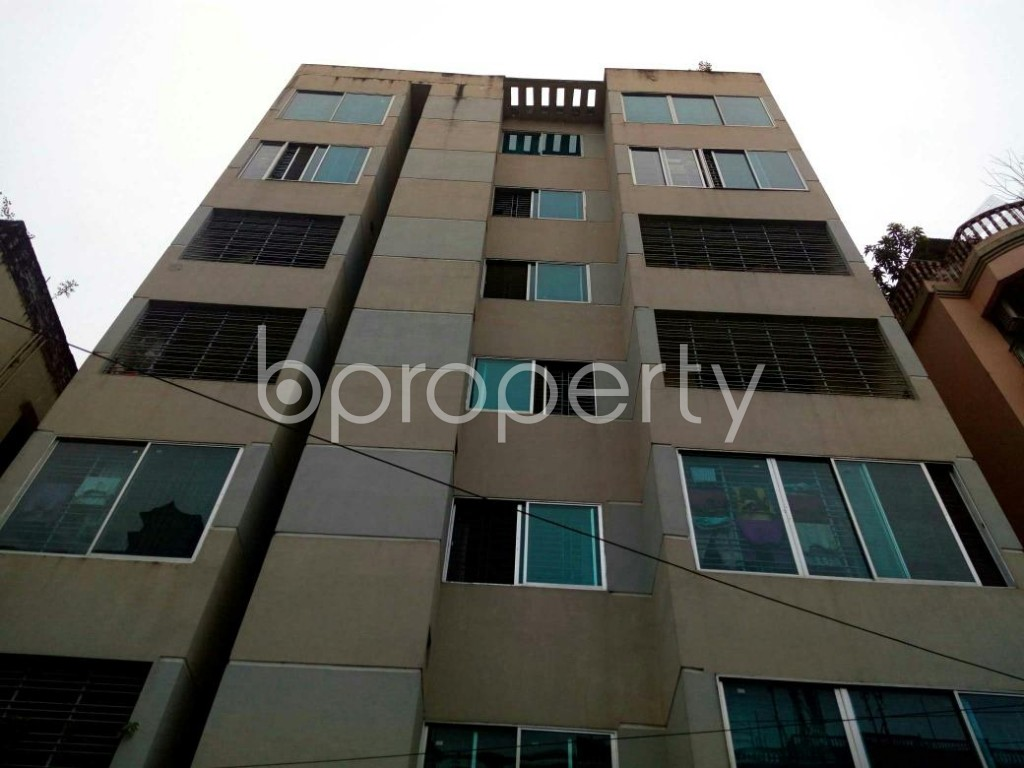 Front view - 3 Bed Apartment for Sale in 11 No. South Kattali Ward, Chattogram - 1828621