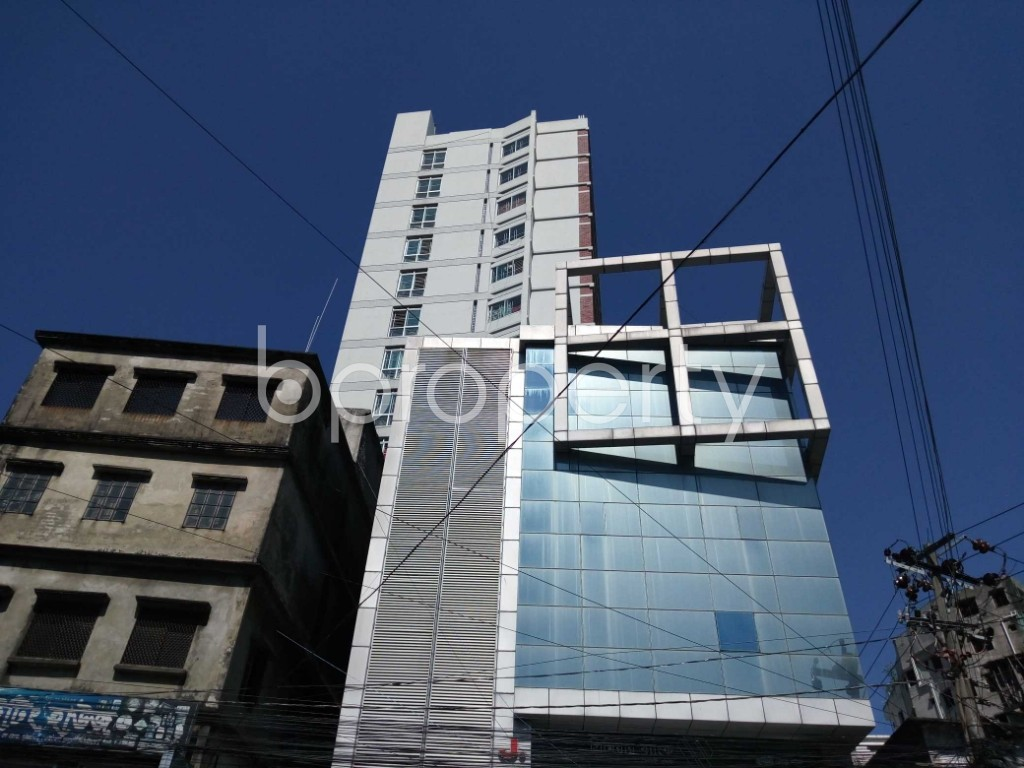 Front view - 3 Bed Apartment for Sale in 22 No. Enayet Bazaar Ward, Chattogram - 1829070
