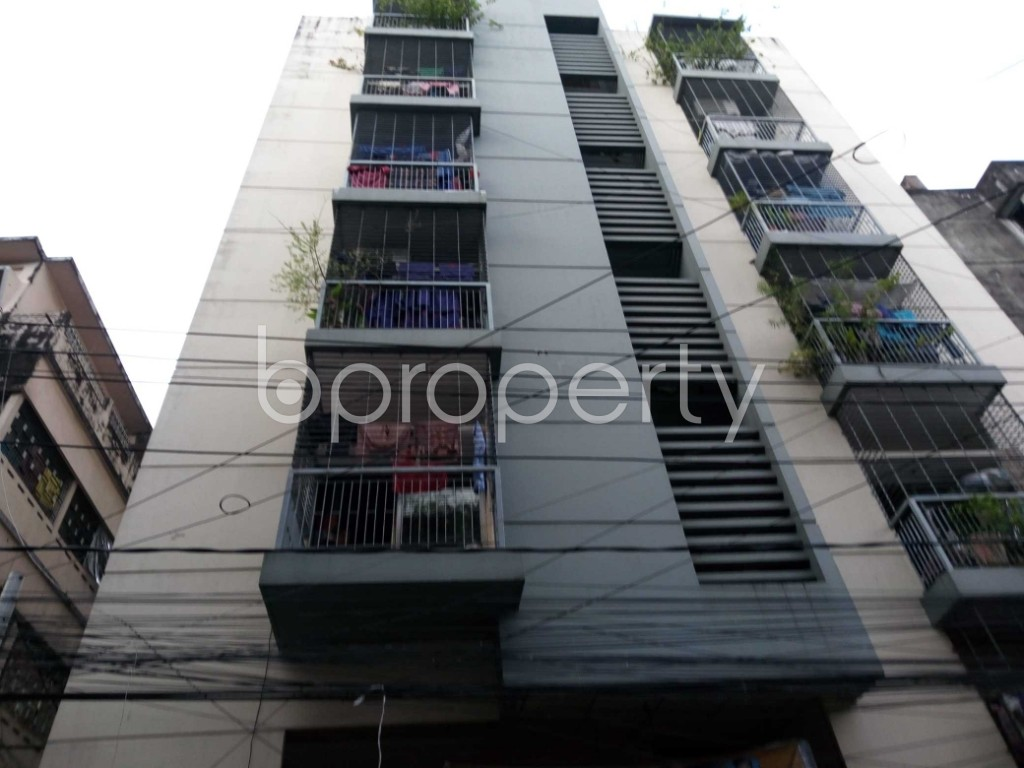 Front view - 2 Bed Apartment for Sale in Jamal Khan, Chattogram - 1829380