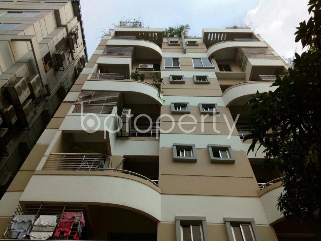 Front view - 3 Bed Apartment for Sale in Uttara, Dhaka - 1829398