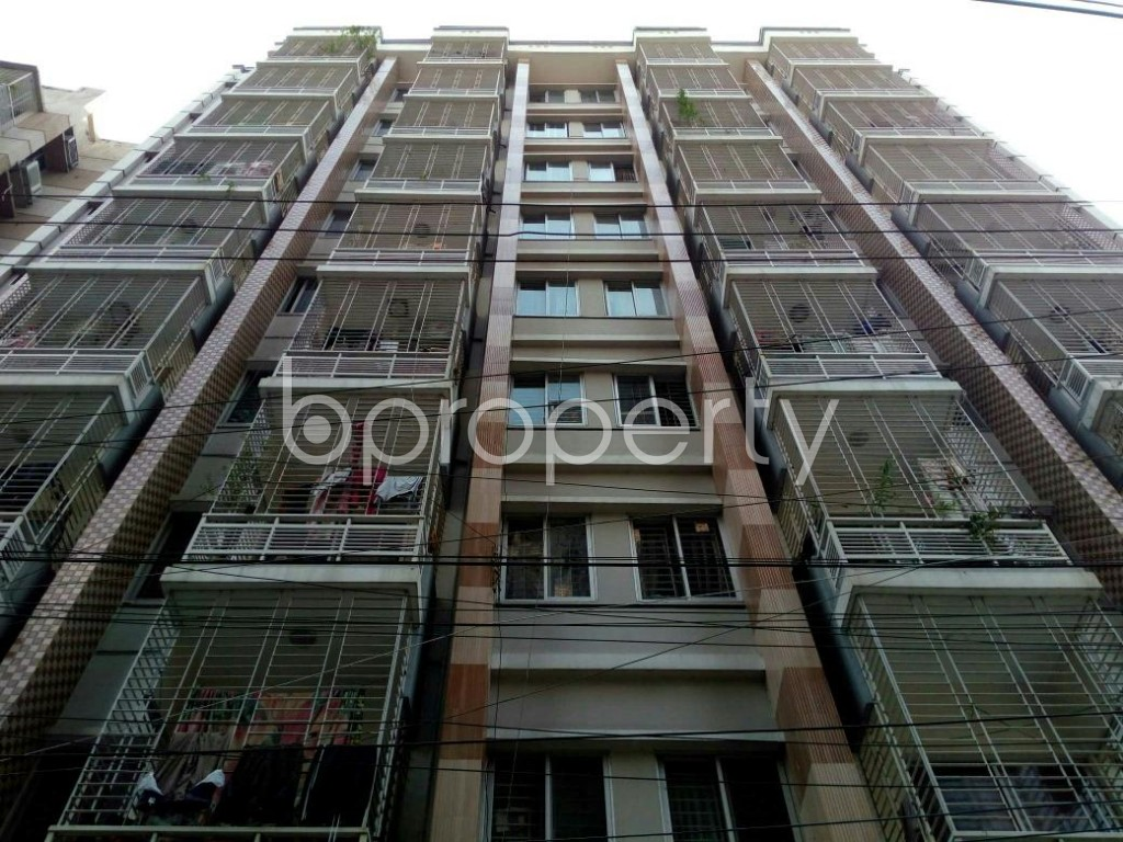 Front view - 3 Bed Apartment for Sale in Dhanmondi, Dhaka - 1829789
