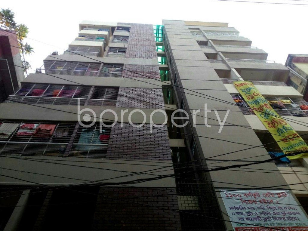Outside view - 3 Bed Apartment for Sale in North Shahjahanpur, Dhaka - 1832460