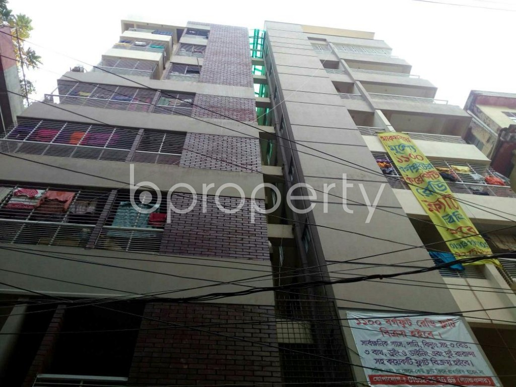Outside view - 3 Bed Apartment for Sale in North Shahjahanpur, Dhaka - 1832466