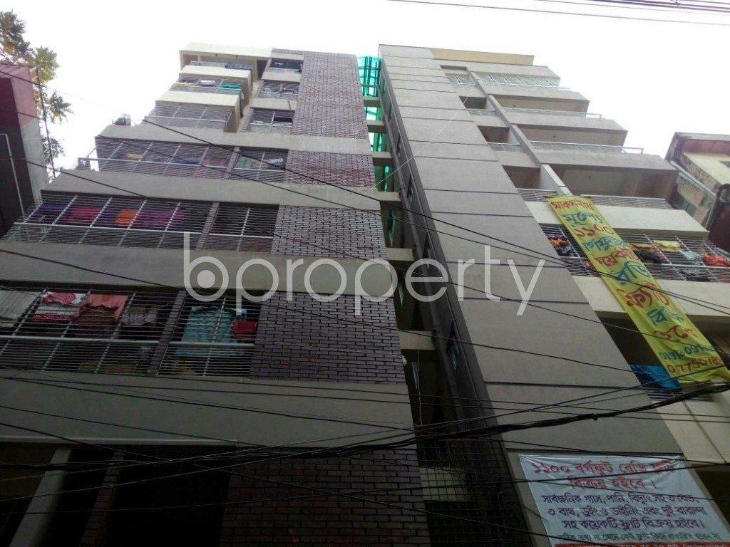 Outside view - 3 Bed Apartment for Sale in North Shahjahanpur, Dhaka - 1832722