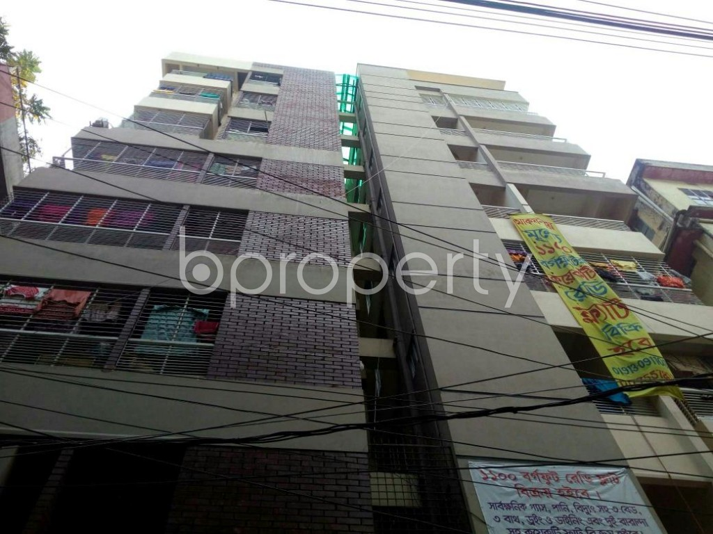 Outside view - 3 Bed Apartment for Sale in North Shahjahanpur, Dhaka - 1832768