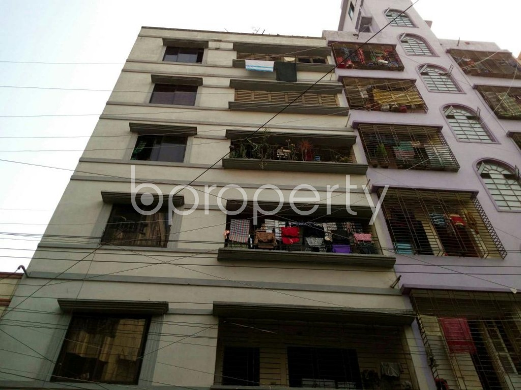 Front view - 2 Bed Apartment to Rent in Lalmatia, Dhaka - 1832803