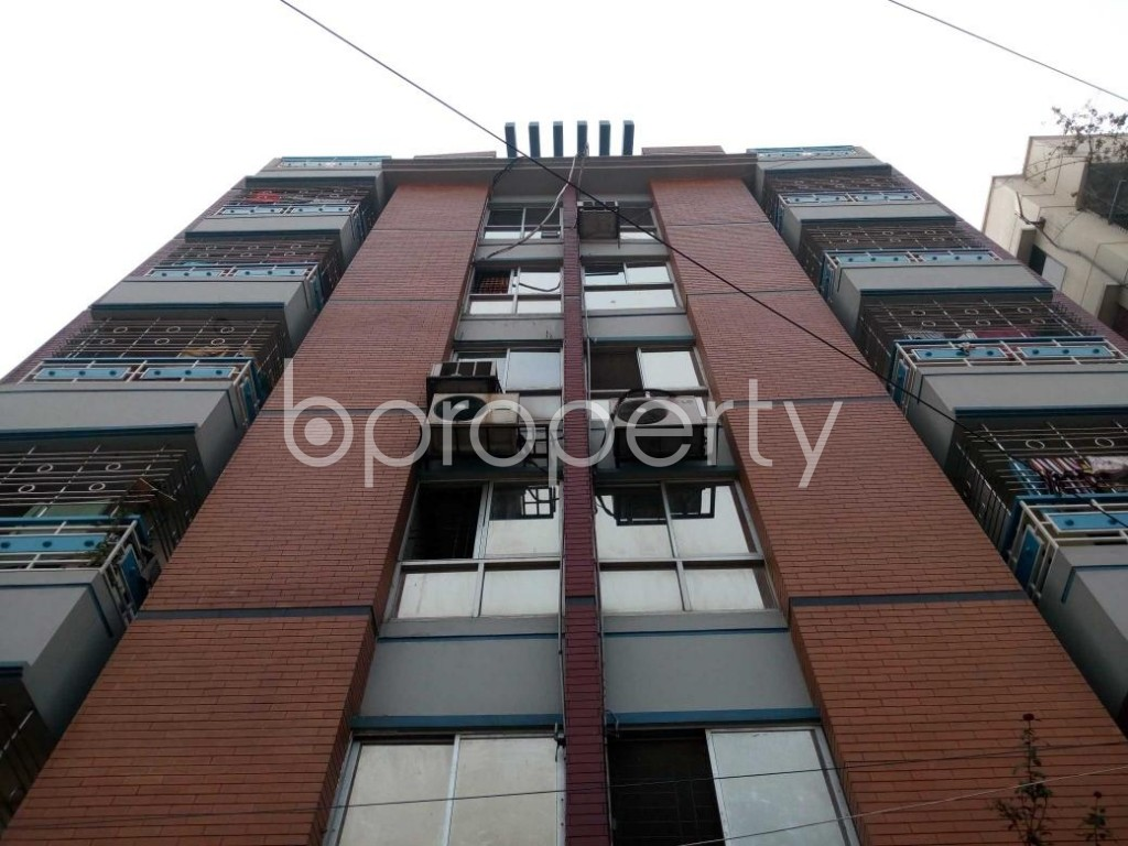 Front view - 3 Bed Apartment for Sale in Uttara, Dhaka - 1832834