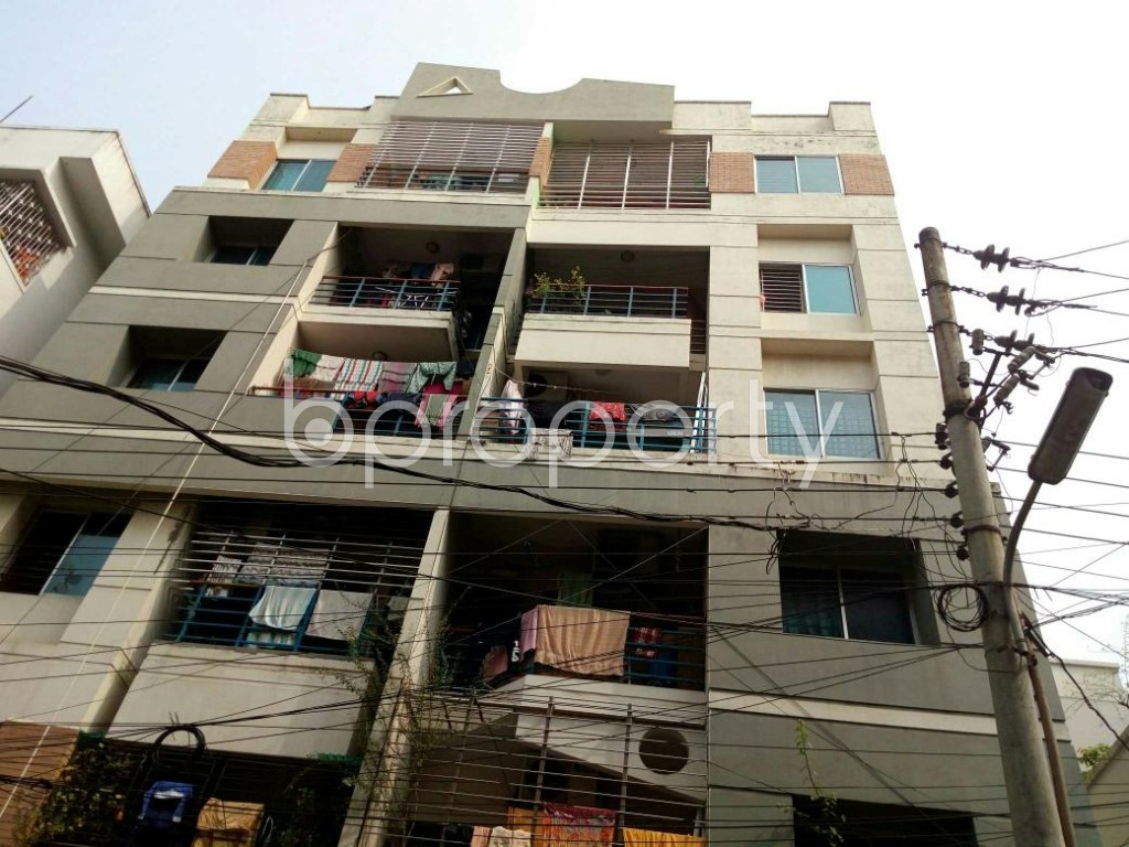 Front view - 3 Bed Apartment to Rent in Lalmatia, Dhaka - 1833084