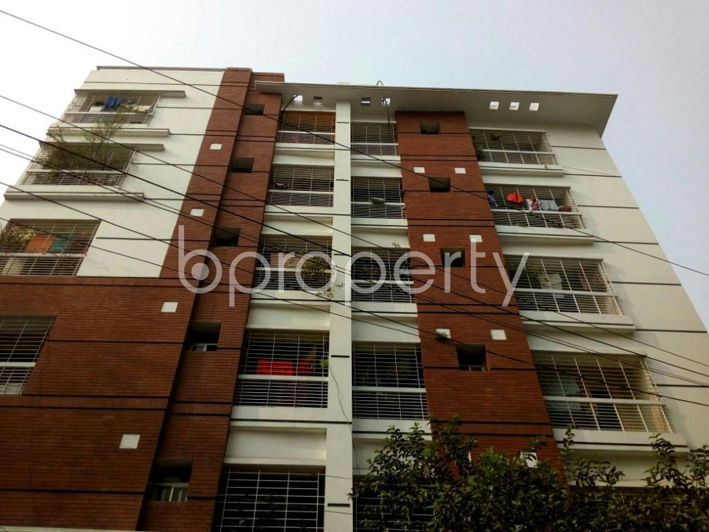 Front view - 3 Bed Apartment for Sale in Lalmatia, Dhaka - 1833088