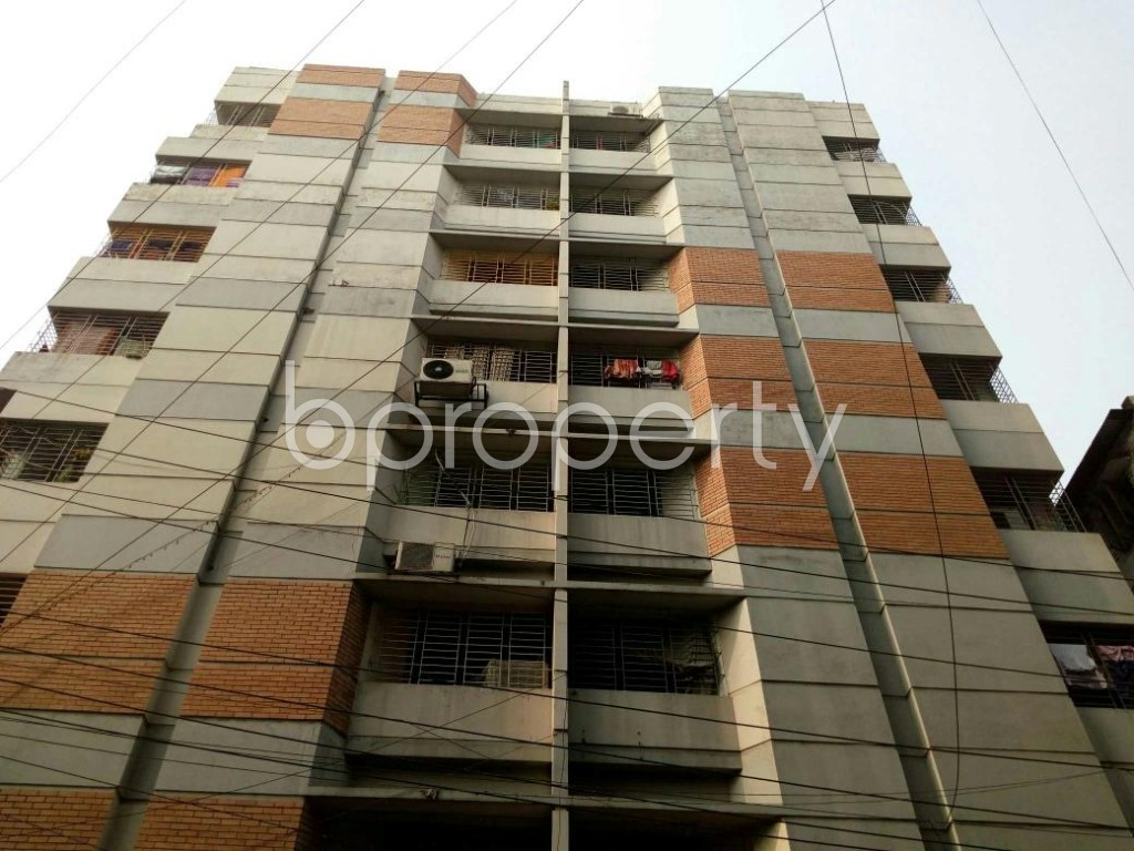 Front view - 3 Bed Apartment to Rent in Lalmatia, Dhaka - 1833098